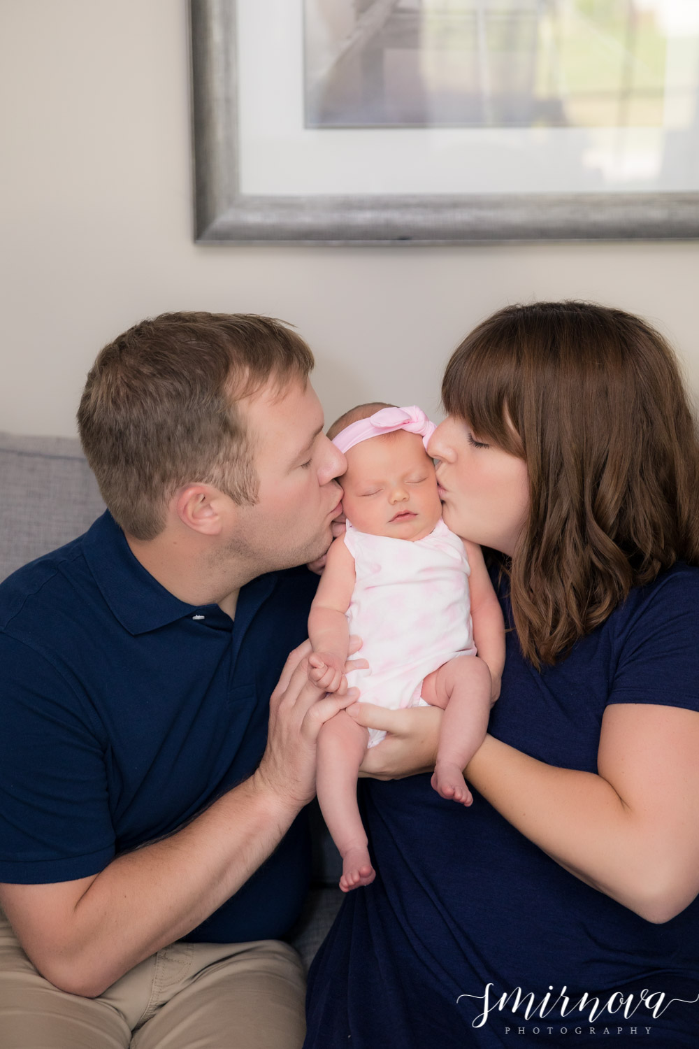 parents and baby girl Smirnova Photography by Alyssa