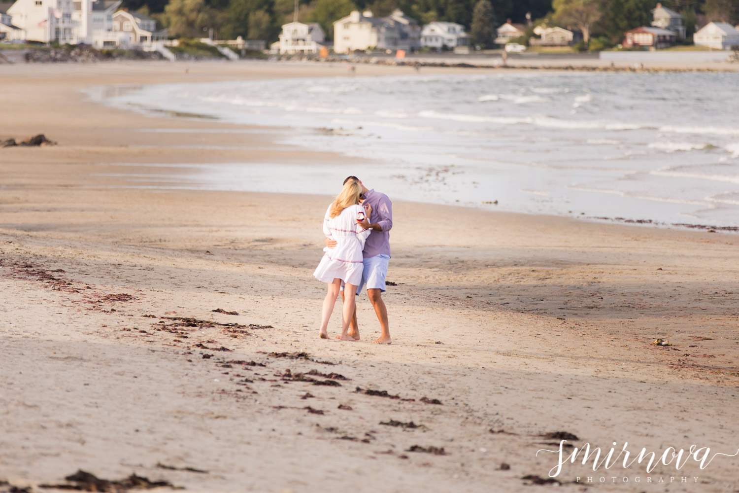 beach surprise proposal Smirnova Photography by Alyssa