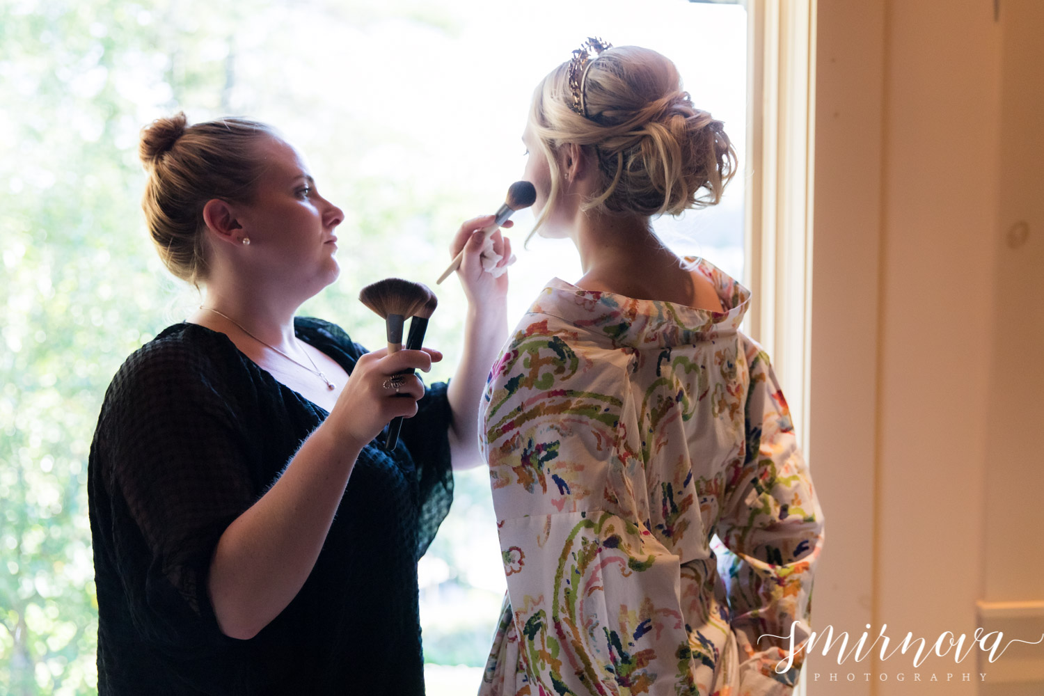bridal prep makeup Smirnova Photography by Alyssa
