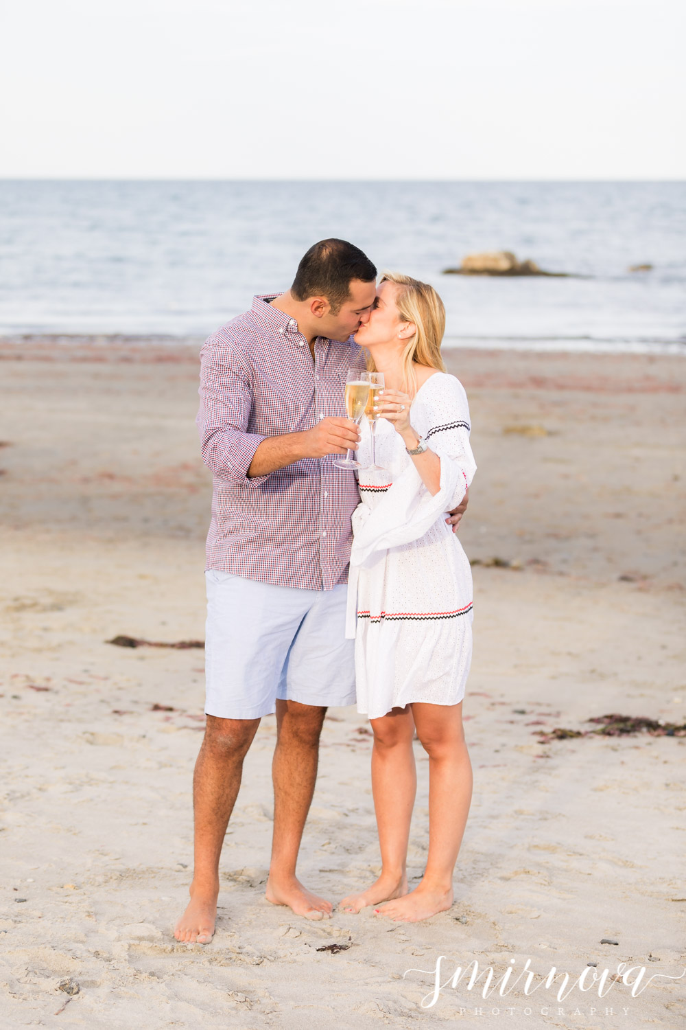 beach engagement proposal Smirnova Photography by Alyssa