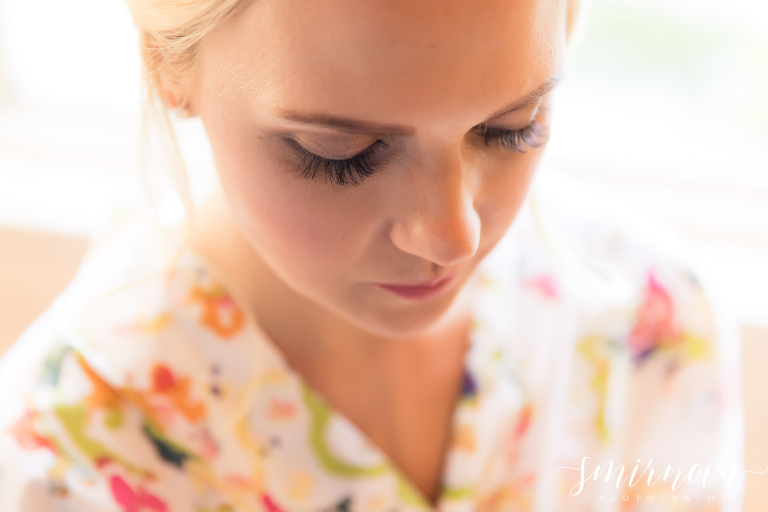 bridal wedding makeup Smirnova Photography by Alyssa