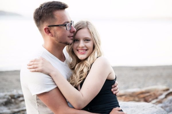 beach engagement photos Smirnova Photography by Alyssa