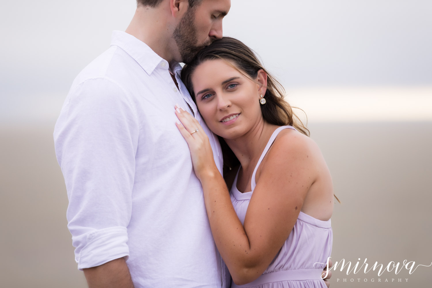 Beach Engagement Smirnova Photography by Alyssa