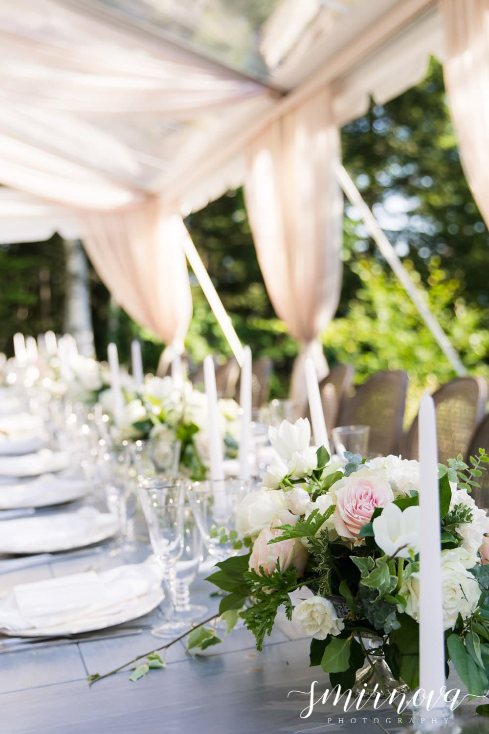 blush outdoor wedding Smirnova Photography by Alyssa