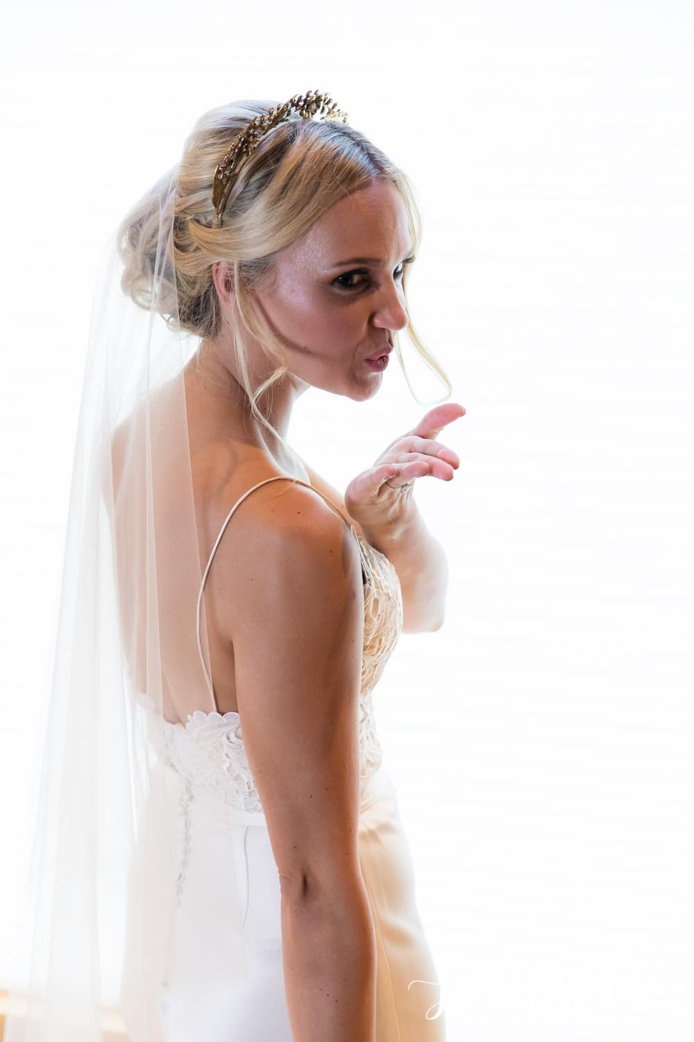 fun bridal portrait Smirnova Photography by Alyssa