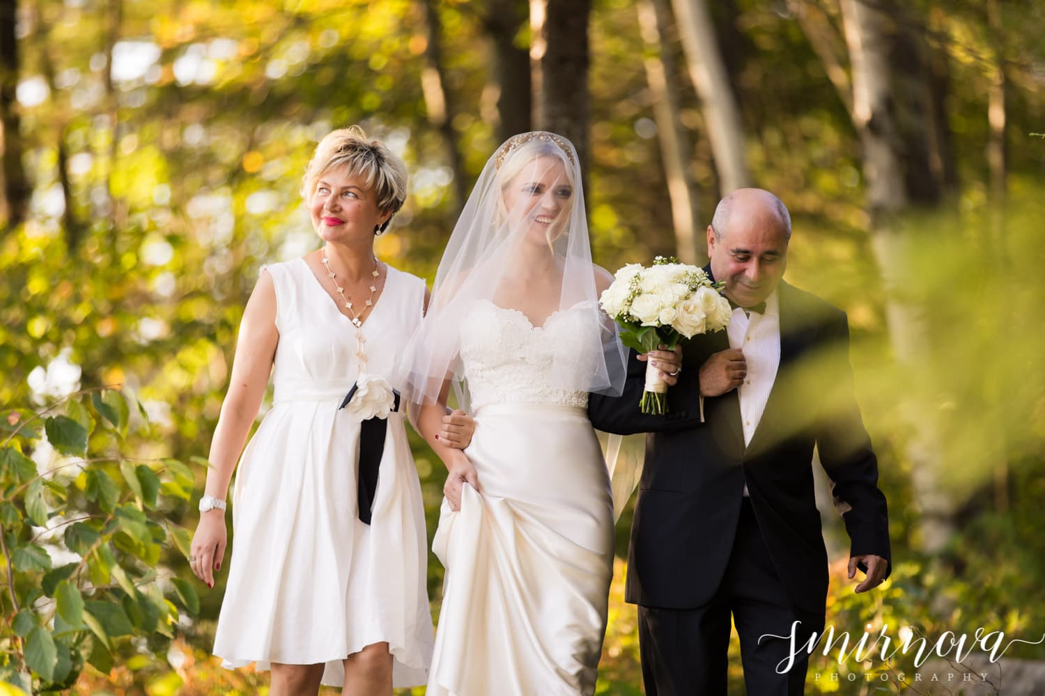 bride parents outdoor ceremony Smirnova Photography by Alyssa