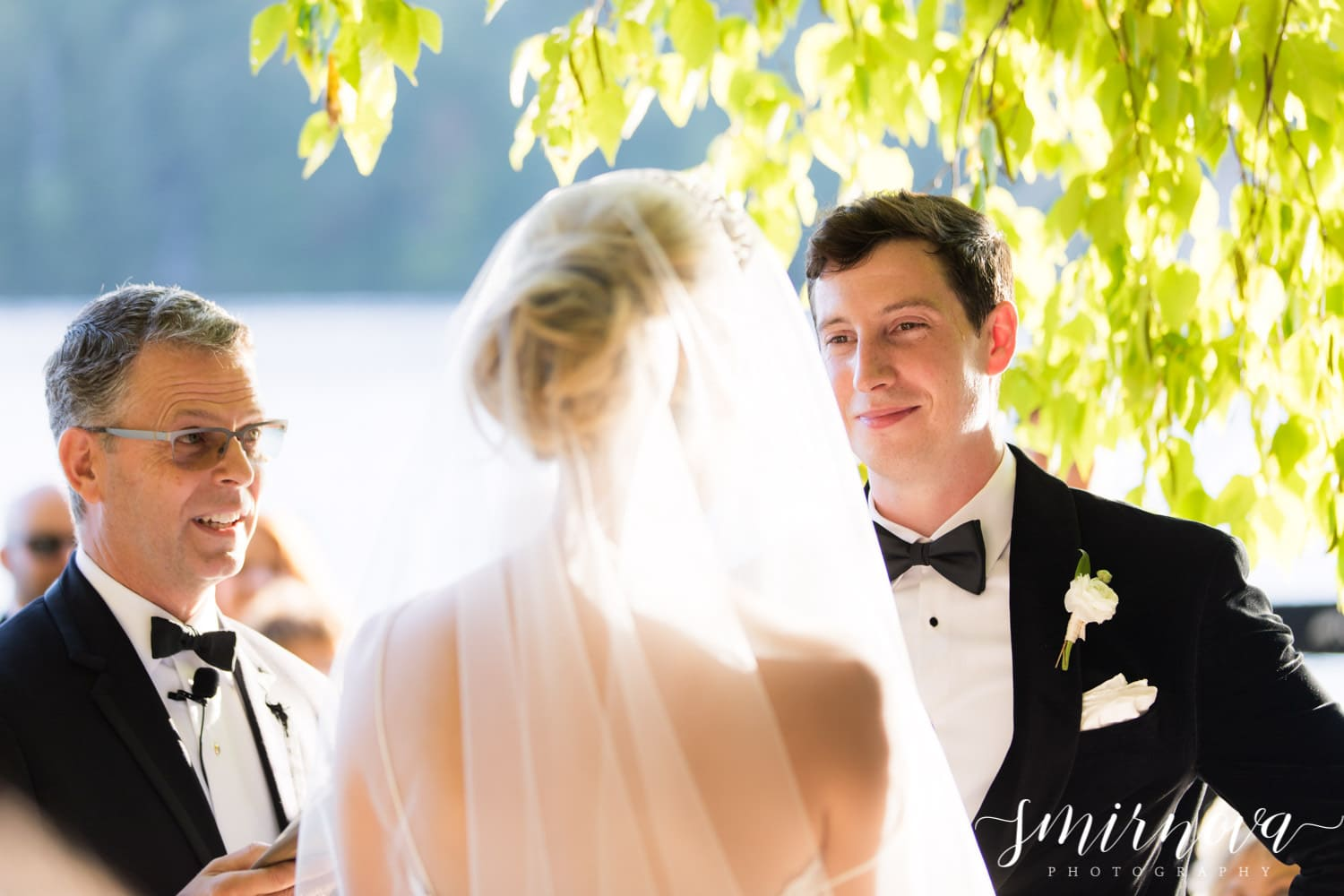 outdoor ceremony Smirnova Photography by Alyssa