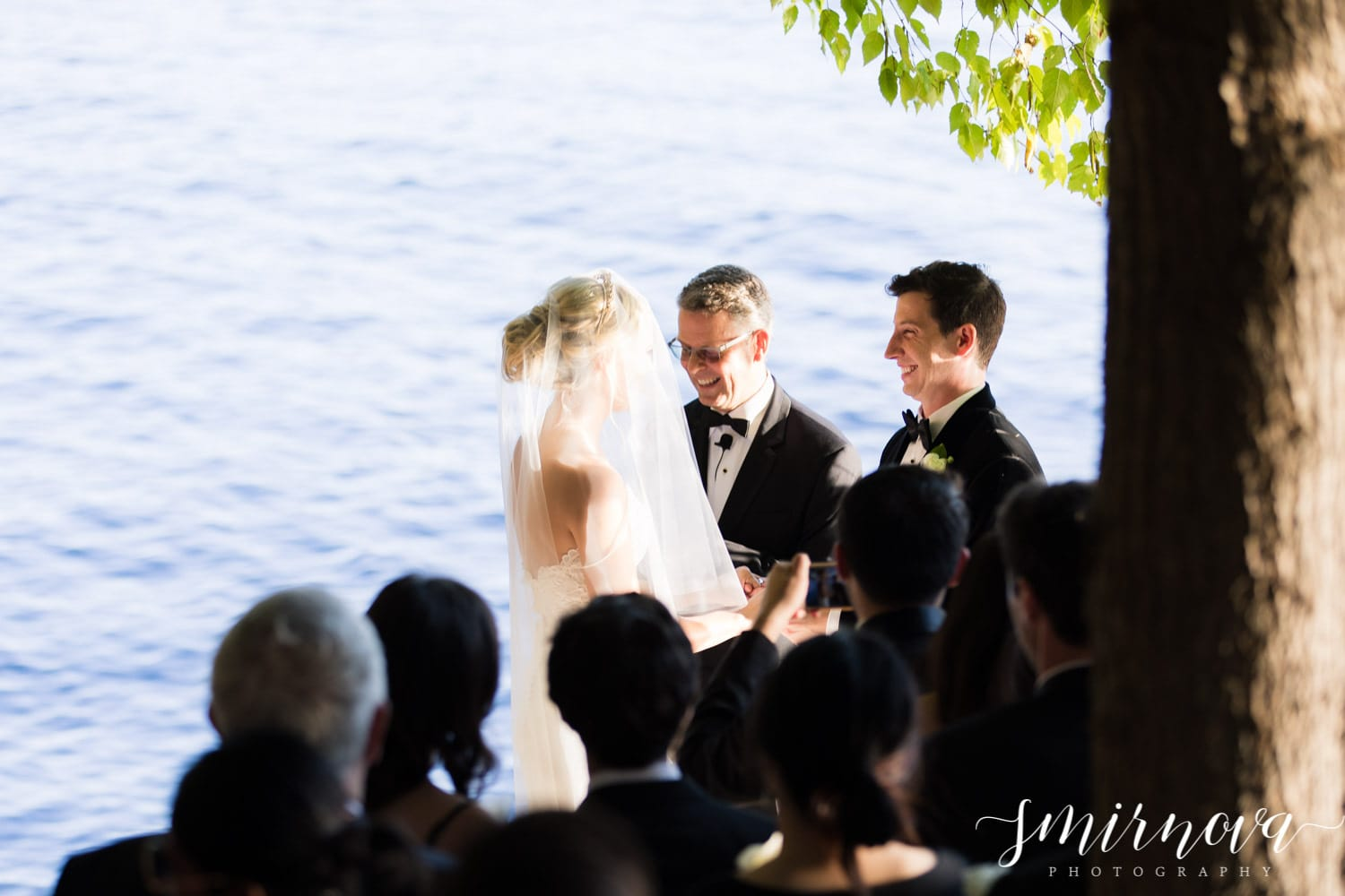 lakeside ceremony Smirnova Photography by Alyssa