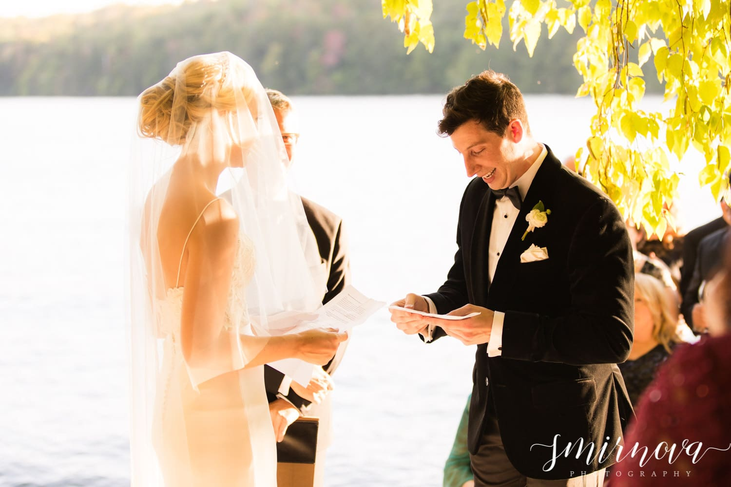 wedding vows Smirnova Photography by Alyssa
