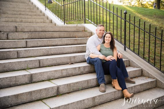 Bunker Hill Monument Engagement Smirnova Photography by Alyssa