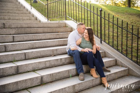 Couple on Stairs Smirnova Photography by Alyssa