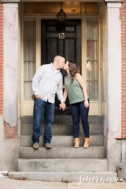 boston door engagement Smirnova Photography by Alyssa