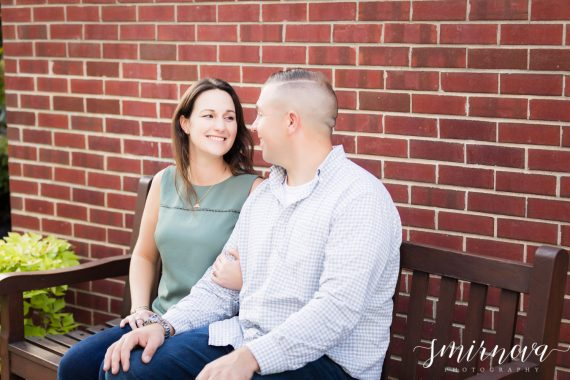 boston brick engagement Smirnova Photography by Alyssa