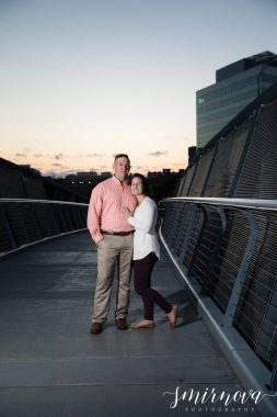 North Point Park Sunset engagement
