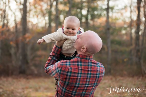 father and baby son Smirnova Photography by Alyssa