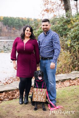 dog save the date engagement Smirnova Photography by Alyssa