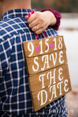 save the date sign engagement deatils Smirnova Photography by Alyssa