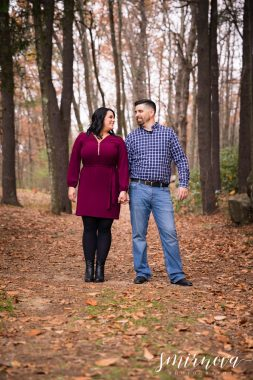 fall color trees engagement Smirnova Photography by Alyssa