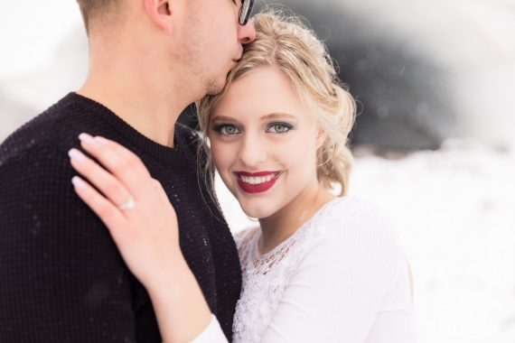 winter bride wedding styled shoot