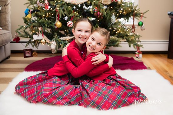 christmas girls holiday photography