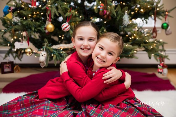 Christmas holiday girls pictures