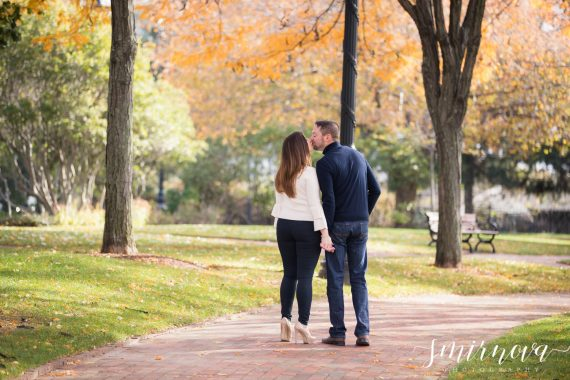 Boston Piers Park Engagement by Smirnova Photography