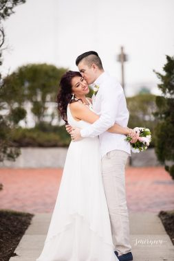 squantum point park elopement Smirnova Photography