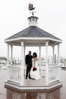 Quincy marina bay wedding gazebo Smirnova Photography by Alyssa