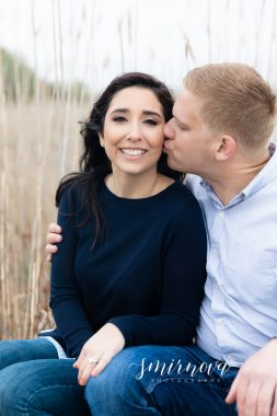 Knowles Beach Dartmouth Engagement Smirnova Photography