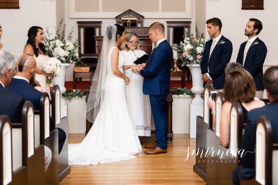 Congregational Church of South Dartmouth wedding Smirnova Photography