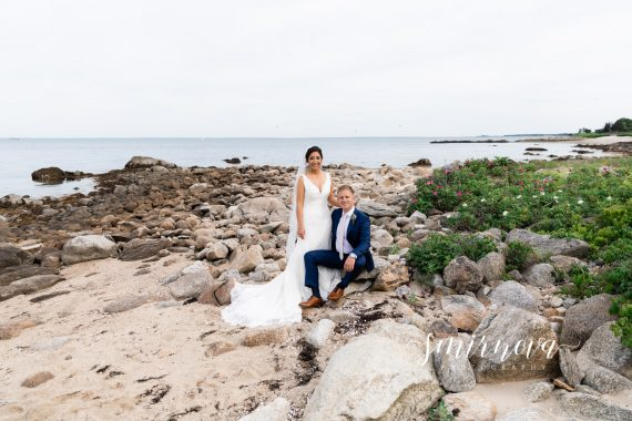 Beach wedding portraits Smirnova Photography