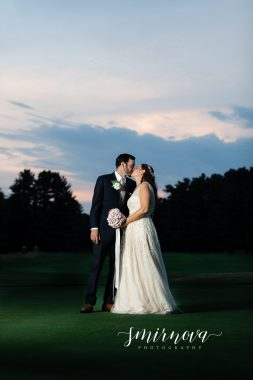 Book themed wedding Segregansett Country Club Wedding Smirnova Photography