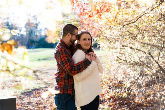 fall engagement photography smirnova photography