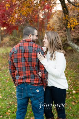 flannel engagement smirnova photography