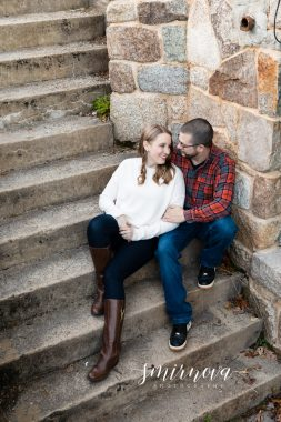 Borderland State Park Engagement Smirnova Photography