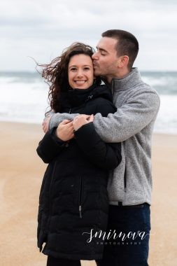 Salisbury Beach Engagement Proposal Smirnova Photography by Alyssa