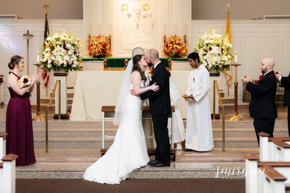 St Brigid Church Wedding Smirnova Photography