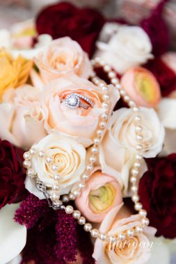 Burgundy Bridal Bouquet Smirnova Photography
